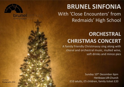 Brunel Christmas Concert | The Brunel Sinfonia - An orchestra based